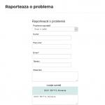 raporteaza o problema online citymanager