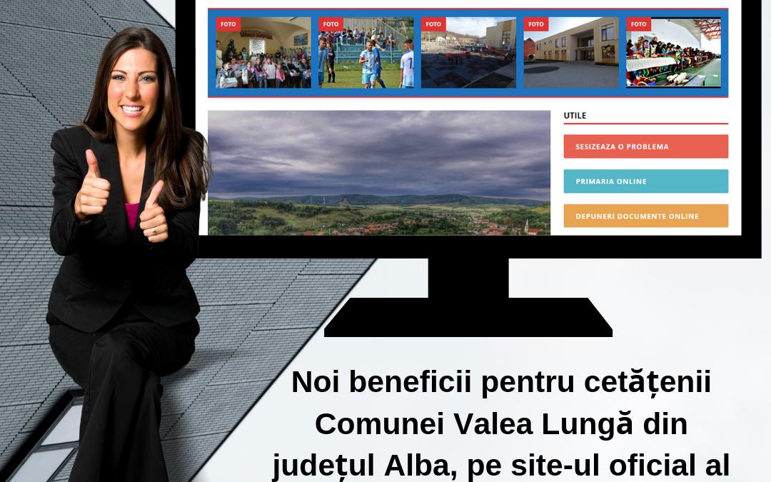 CityManager a ajuns in Primaria Comunei Valea Lunga din judetul Alba