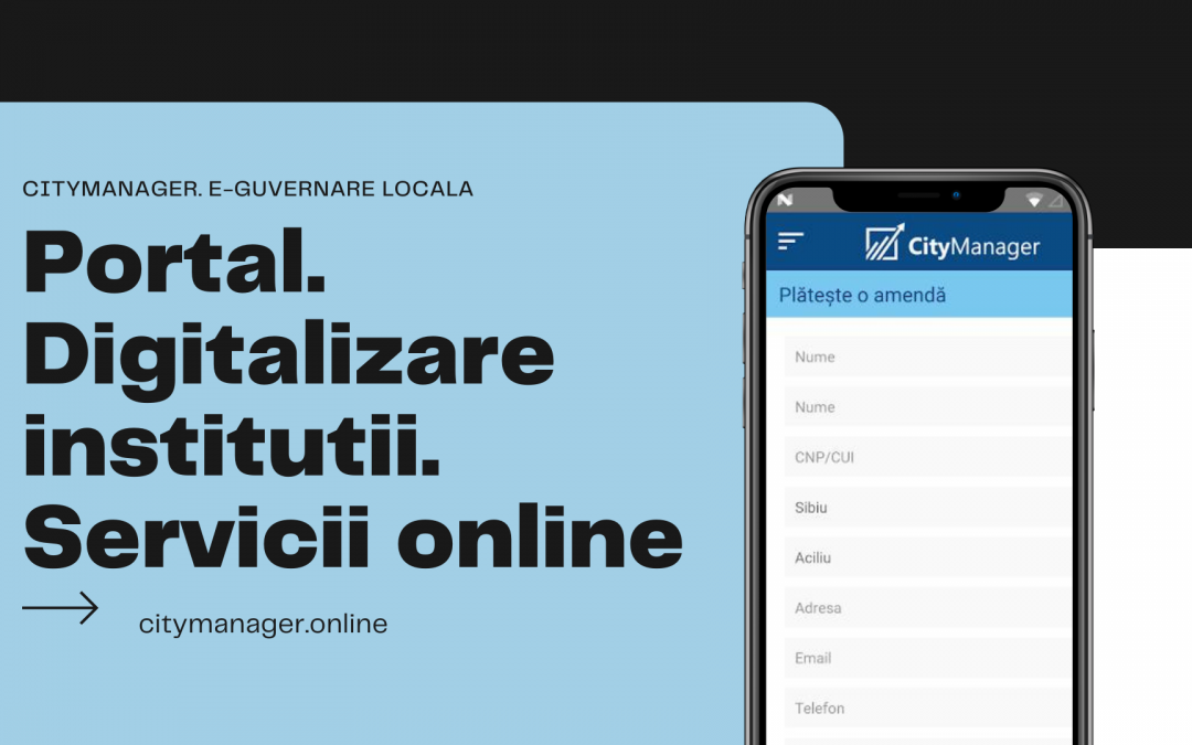 Primăria online| servicii publice pentru cetățeni