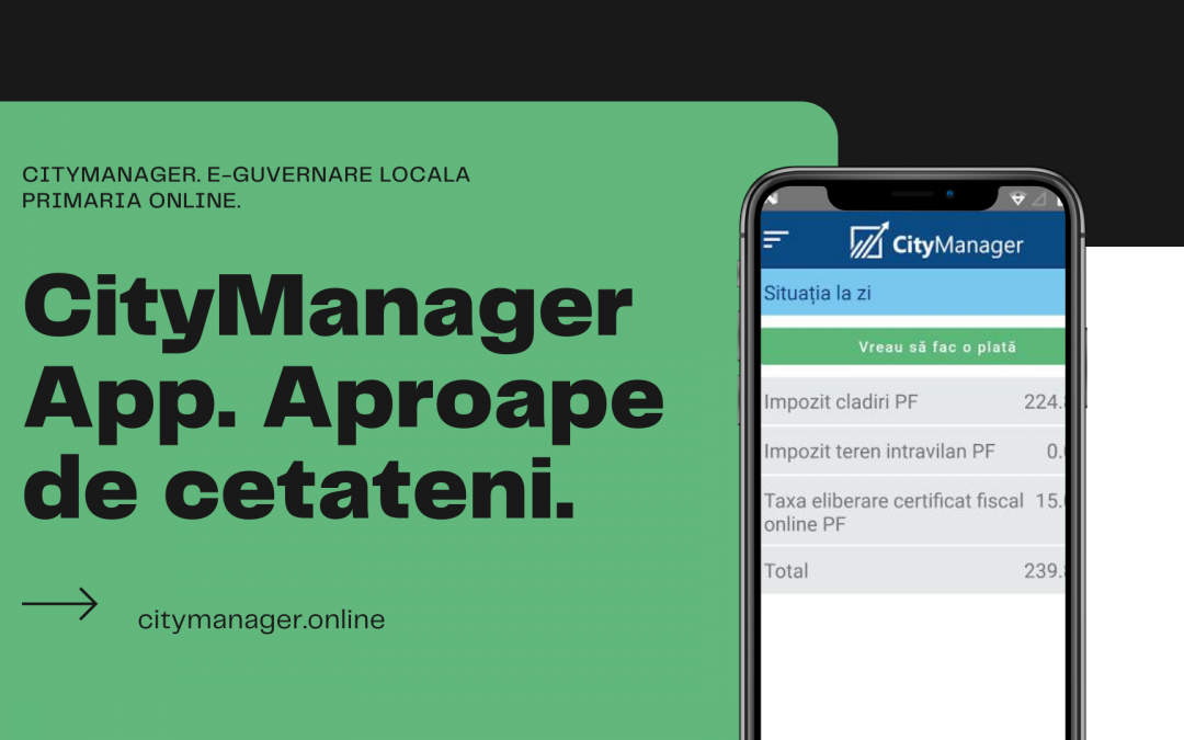 Raportează o problemă cu CityManager