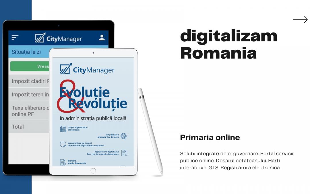 Servicii digitalizate în Primării