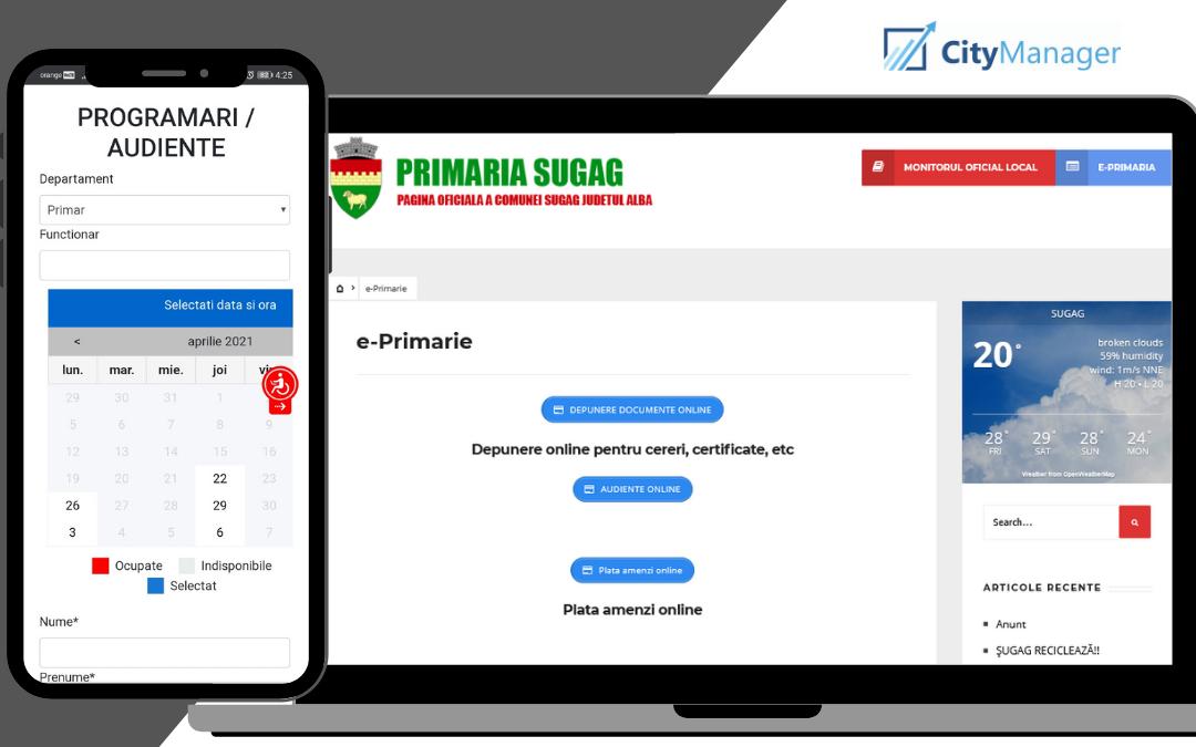 Digitalizarea Primăriei Comuna Șugag